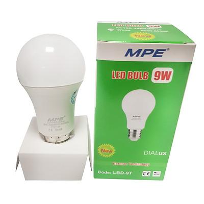 Bóng đèn LED Bulb 9W MPE - Ánh sáng trắng LBD-9T