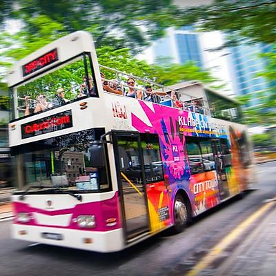 Vé Xe Bus Hop On Hop Off Ở Kuala Lumpur - Vé 24 Tiếng