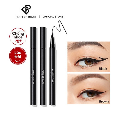 Bút Kẻ Mắt Perfect Diary LONG WEAR ULTRA PRECISION Smudge-proof 0.4ml