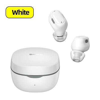 Tai nghe Bluetooth Baseus Encok True Wireless Earphones WM01 (TWS, Bluetooth 5.0, Stereo Earbuds, Touch Control, Noise Cancelling) - Hàng chính hãng
