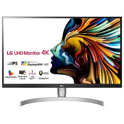 Màn Hình LED LG 27UL850-W 27 inch 4K UHD (3840 x 2160) VESA DisplayHDR 400 5ms 60Hz IPS - Hàng Chính Hãng