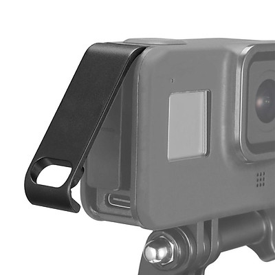 Camera Battery Compartment Cover Lid Quick Release Type-C Charging Port Cover Compatible with GoPro Hero 8 Black