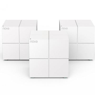 Bộ 3 Thiết Bị Router Wifi Tenda NOVA MW6 - Hàng Nhập Khẩu