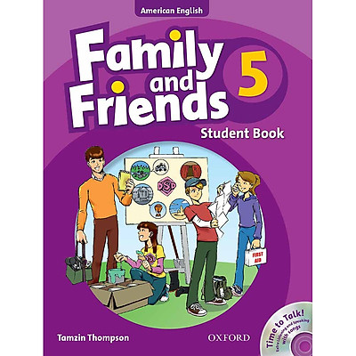 Family and Friends 5: Student Book and Time to Talk (Audio CD Extra Listening and Speaking With Songs) (American English Edition)