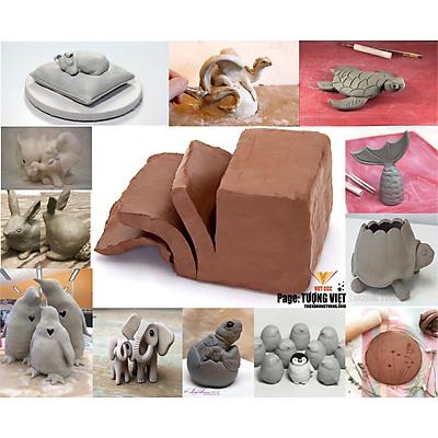 Đất sét bát tràng, đất sét làm điêu khắc, nguyên liệu làm nghệ thuật, nguyên liệu dành cho các bé học tập