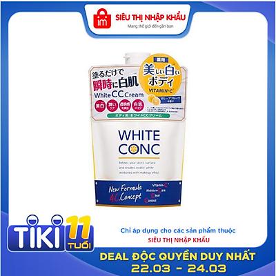 Kem Dưỡng Trắng Da Toàn Thân CC Cream White Conc - Túi 200g