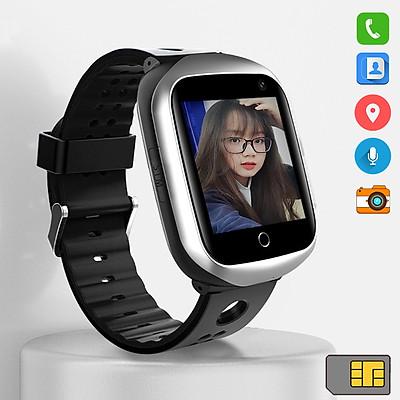 Đồng Hồ Thông Minh Định Vị GPS Chống nước | Nam Nữ | Gắn Sim 4G độc lập Model AMA Watch FA66 dành cho Trẻ em Học sinh Sinh viên Người lớn Hàng nhập khẩu