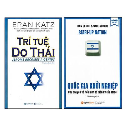 Combo Sách Về Người Do Thái - Trí Tuệ Do Thái và Quốc Gia Khởi Nghiệp