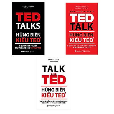 Combo Hùng Biện Kiểu Ted (Trọn Bộ 3 Cuốn)