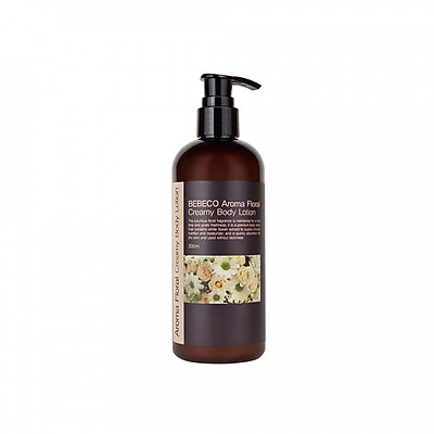 Sữa Dưỡng Thể Hương Thơm Nước Hoa Bebeco Aroma Floral Creamy Body Lotion