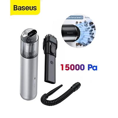 (Hàng chính hãng) Máy Hút Bụi Không Dây BASEUS A3 Vacuum15000Pa sử dụng trong nhà ở, xe hơi,... siêu tiện lợi