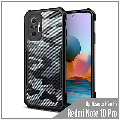 Ốp lưng cho Xiaomi Redmi Note 10 Pro Rzants rằn ri - Hàng nhập khẩu