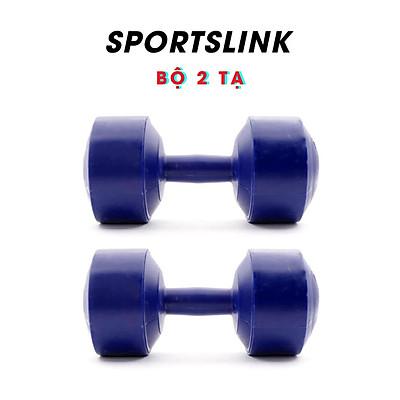Bộ 2 Tạ Tập Tay Nhựa VN Sportslink - Xanh