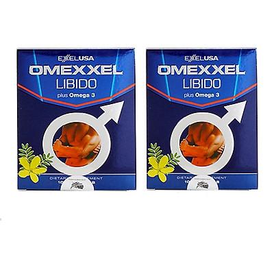 Combo 2 Thực phẩm chức năng Viên Uống Tăng Cường Sinh Lý Và Sức Khỏe Nam Giới Omexxel Libido (20 viên) - Xuất xứ Mỹ
