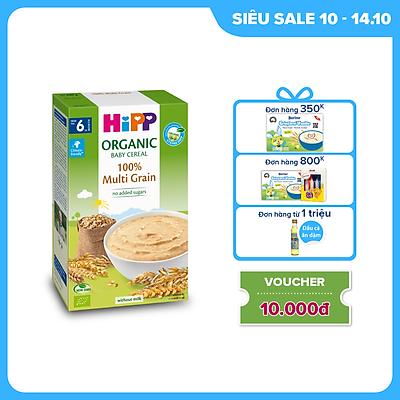 Bột ăn dặm dinh dưỡng Ngũ cốc tổng hợp HiPP Organic 200g
