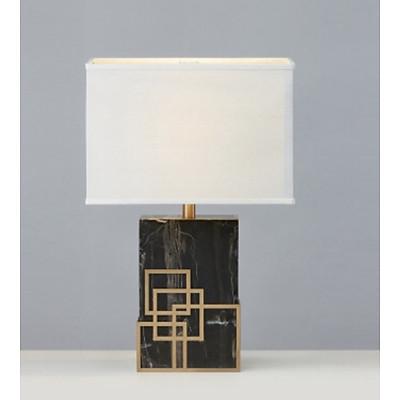 Đèn ngủ để bàn, đọc sách đế đá trang trí phòng ngủ và phòng khách DB 575-18