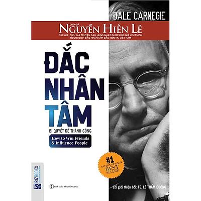 Combo 2 sách Đắc Nhân Tâm + Thôi Miên Bằng Ngôn Từ (bìa đen mới) (Tặng bút siêu Kute)