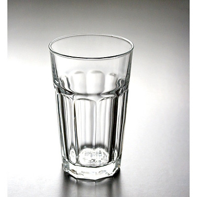 Bộ 12 Ly Thủy Tinh Uống Sinh Tố 8 Góc Cao Camdaco (420ML)