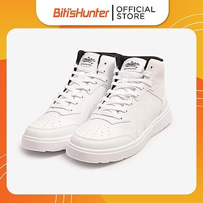 Giày Thể Thao Nam Biti's Hunter Street Z Collection High White DSMH06200TRG (Trắng)