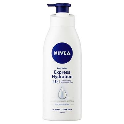 Nivea Express Hydration Hydra IQ Body Lotion 400ml