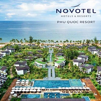 Gói 4N3Đ Novotel Resort 5* Phú Quốc - Buffet Sáng, Hồ Bơi, Bãi Biển Riêng, Xe Đón Tiễn Sân Bay, Nhiều Hoạt Động Giải Trí, Dành Cho 02 Người Lớn Và 02 Trẻ Em Dưới 16 Tuổi