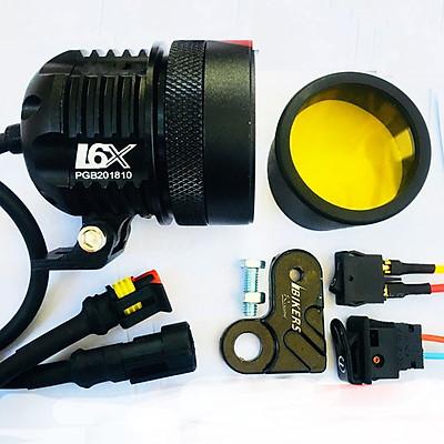 Đèn Pha Led L6X 40W trợ sáng xe máy Tặng 5 món phụ kiện