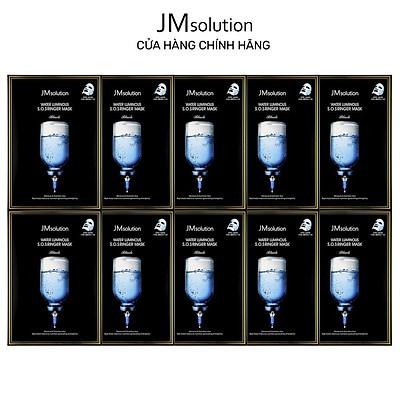 Combo 10 Mặt Nạ Cấp Ẩm Và Dưỡng Sáng Cho Da JMsolution Water Luminous S.O.S Ringer Mask 35ml x 10