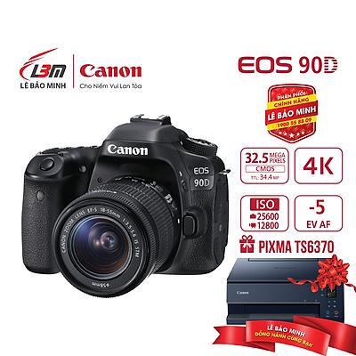 Máy ảnh Canon EOS 90D KIT 18-55mm - Hàng Chính Hãng Lê Bảo Minh