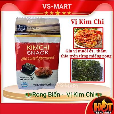 Rong biển ăn liền Vị Kim Chi Hàn Quốc (lốc 3 gói)