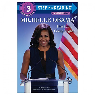 Step Into Reading Level 3: Michelle Obama