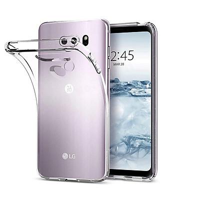 Ốp lưng dẻo silicon cho LG V30 / LG V30S / LG V30 Plus / LG V30S ThinQ / LG V35 / LG V35 ThinQ hiệu Ultra Thin mỏng 0.6mm chống trầy - Hàng nhập khẩu