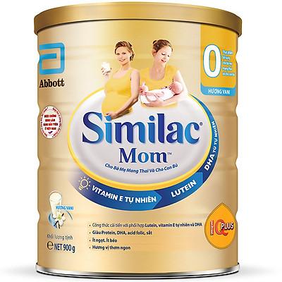 Sữa Bột Similac Mom Hương Vani (900g)