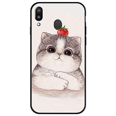 Ốp lưng dành cho Samsung M20 Mèo Trắng K.U.T.E - Hàng Chính Hãng