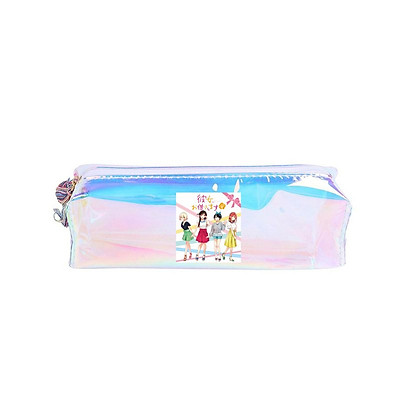 Hộp bút hologram Kanojo Okarishimasu DỊCH VỤ THUÊ BẠN GÁI anime chibi bóp viết đựng bút đồ dùng học tập dễ thương