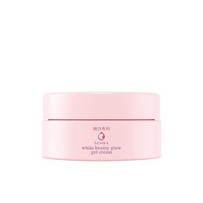 Kem Dưỡng Trắng Da Ban Đêm Senka White Beauty Glow Gel Cream 15g