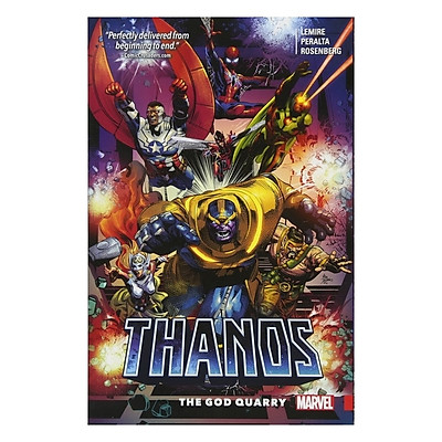 Marvel Comics: Thanos Vol. 2: The God Quarry