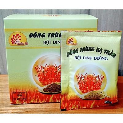 Đông trùng hạ thảo Thiên Ân bột dinh dưỡng 300g(12 gói x25g)