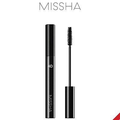 Mascara cong và dài mi MISSHA 4D 7g