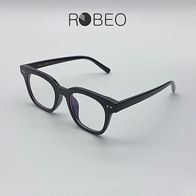 Gọng kính cận ROBEO GM, gọng vuông mắt chống ánh sáng xanh - Fullbox