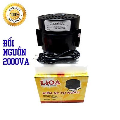 Bộ đổi nguồn 220v sang 100v - 120v lioa 2000va