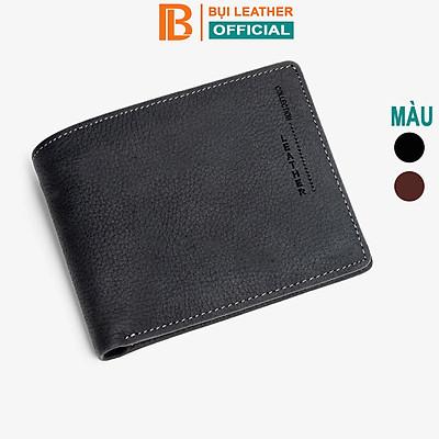 Ví nam da bò sáp Mexico V102 cao cấp, bóp nam da bò thật nhiều ngăn chứa tiền chứa thẻ, dáng ngang và đứng có khóa kéo,2 màu đen và nâu,Fullbox hộp sang trọng làm quà tặng,thương hiệu Bụi leather chuyên đồ da thật,bảo hành 12 tháng