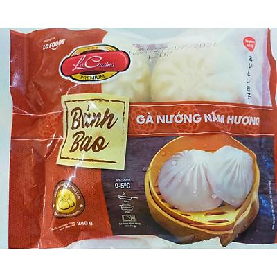 Bánh Bao Gà Nấm Hương  400g