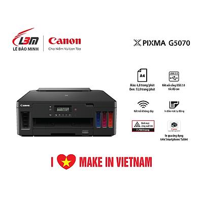Máy in phun đơn năng có tiếp mực liên tục  Canon G5070- Hàng chính hãng
