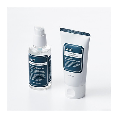 Combo 2 sản phẩm Klairs Rich Moist Soothing