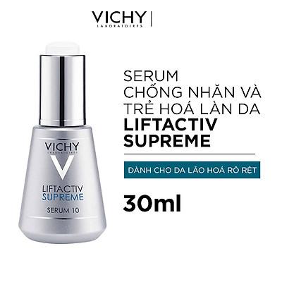 Dưỡng Chất Dưỡng Da Giúp Ngăn Ngừa 10 Dấu Hiệu Lão Hóa & Làm Săn Chắc Làn Da Vichy LiftActiv Supreme Serum 30ml