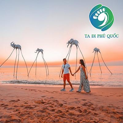 [Phú Quốc] Tour Cano 4 Đảo - Cáp Treo Hòn Thơm - Sunset Sanato 01 Ngày, Miễn Phí Quay Flycam, Chụp Hình Phao Sup, Khởi Hành Hàng Ngày