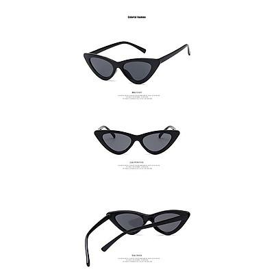 Triangular Cat Eye Sunglasses Children Uv400 Boys Girls Child Eyewear