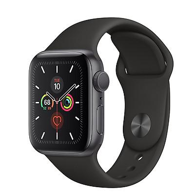 Đồng Hồ Thông Minh Apple Watch Series 5 GPS Only Aluminum Case With Sport Band (Viền Nhôm & Dây Cao Su) - Hàng Chính Hãng VN/A
