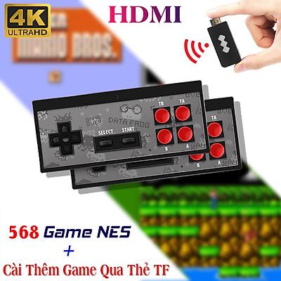 Máy chơi game điện tử cầm tay HDMI Y2 4K Tích Hợp 568 Game ,Cài Thêm trò chơi Qua Thẻ Nhớ , Tay Cầm Không Dây Nhỏ Gọn