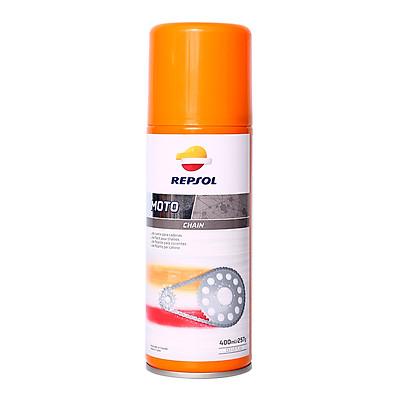 Chai xịt dưỡng sên/xích Repsol 400ml